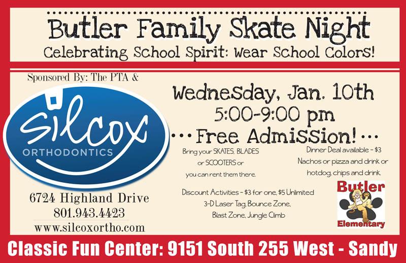 Butler Elementary Skate Night